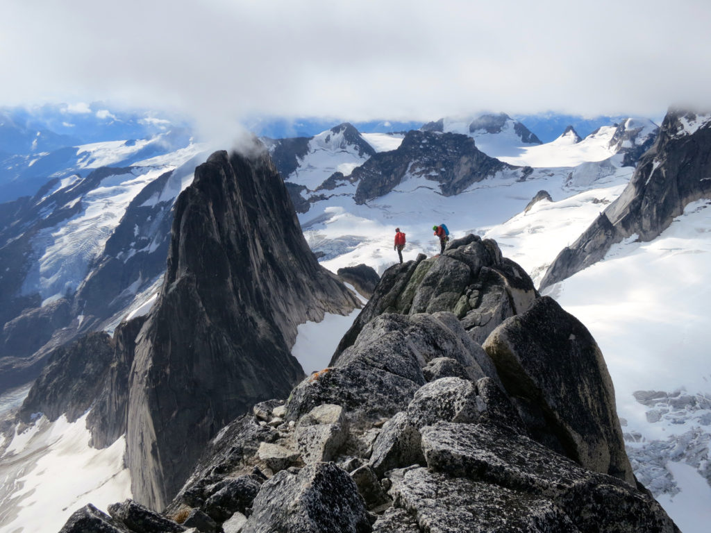 Kain Route, Bugaboo Spire, BC
