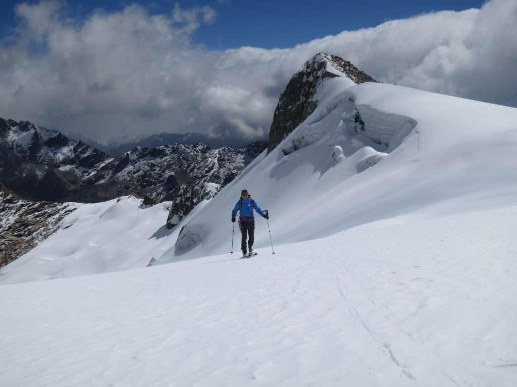 Nevado Ishinca, Cordillera Blanca, Peru