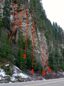 Westside Buttress overview