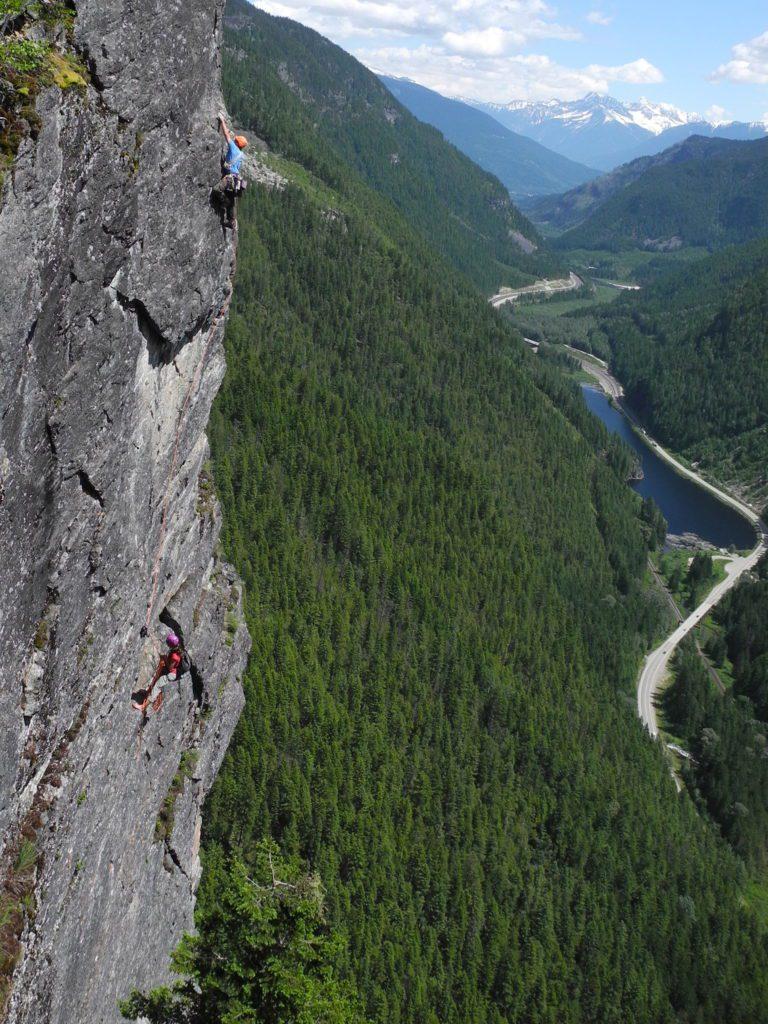 Victor Lake Wall, Revelstoke, BC