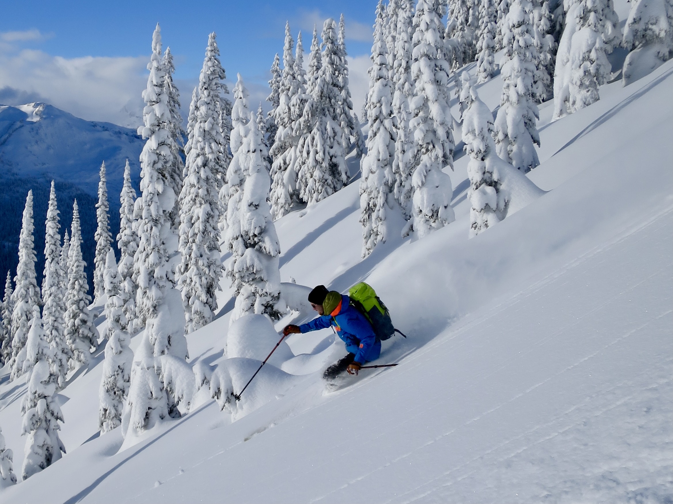 Advanced Avalanche Course in Rogers Pass